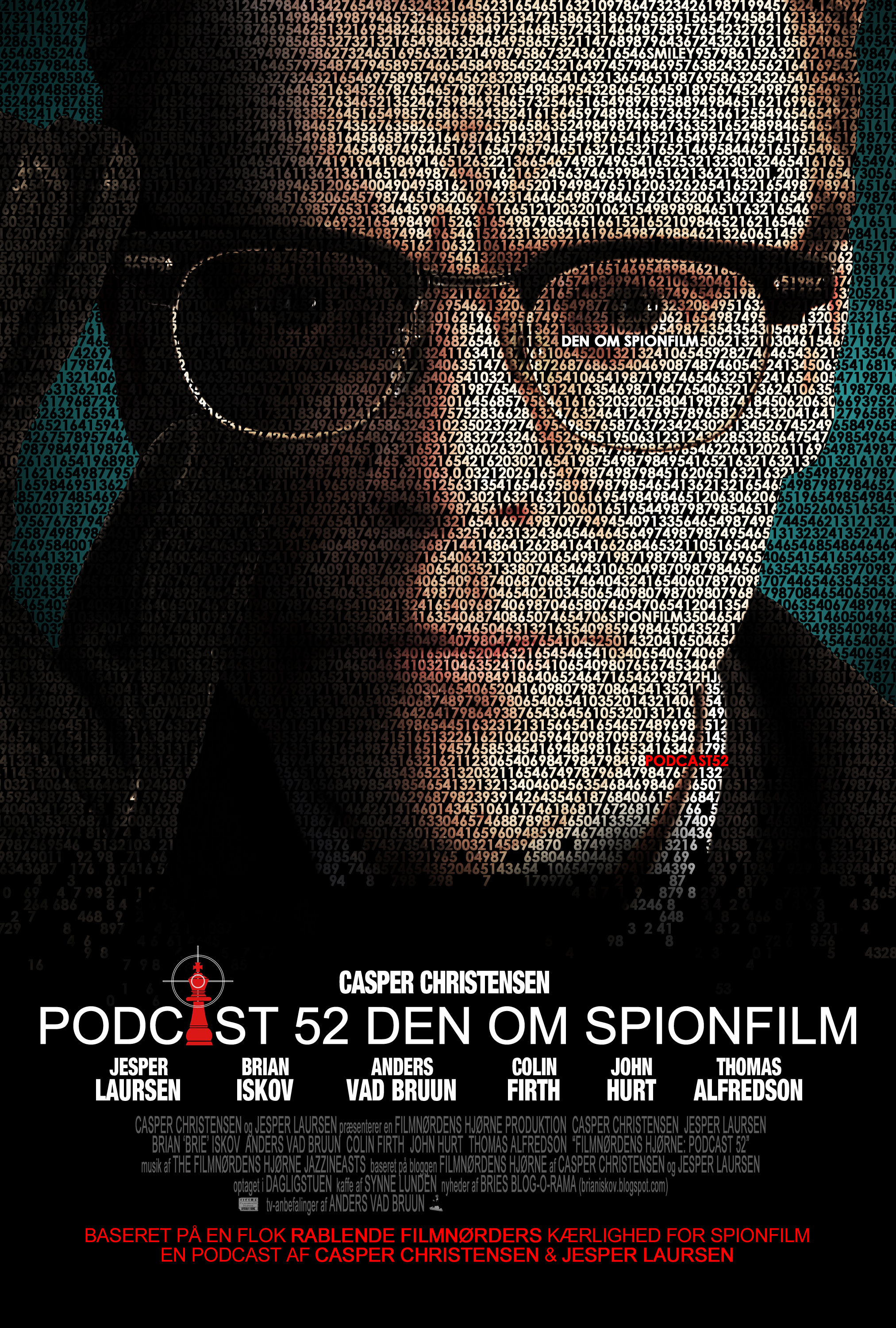 Poster for podcast 52 Casper