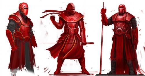 Samurai Imperial Gaurd Designs