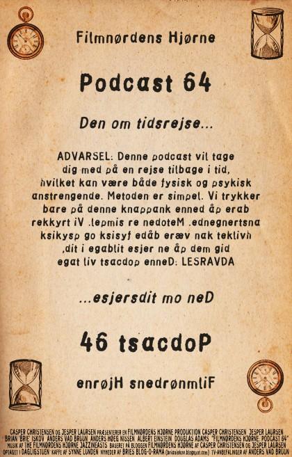 Podcast 64 (Den om tidsrejse...)