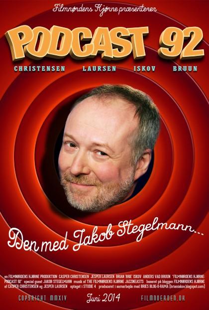 Podcast 92 (Den med Jakob Stegelmann...)