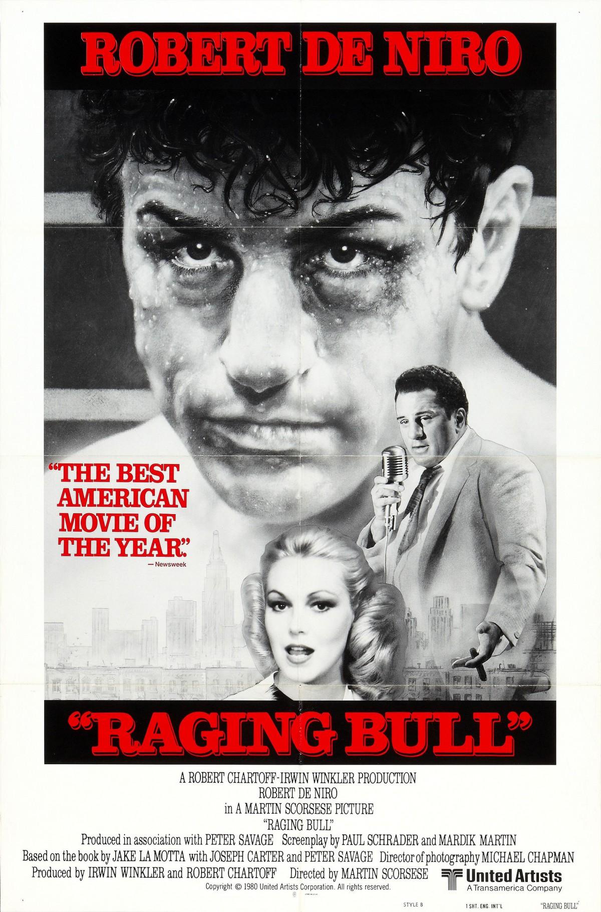 27. Raging Bull (1980)