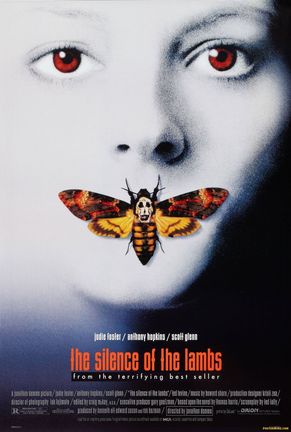 3. The Silence of the Lambs (1991)