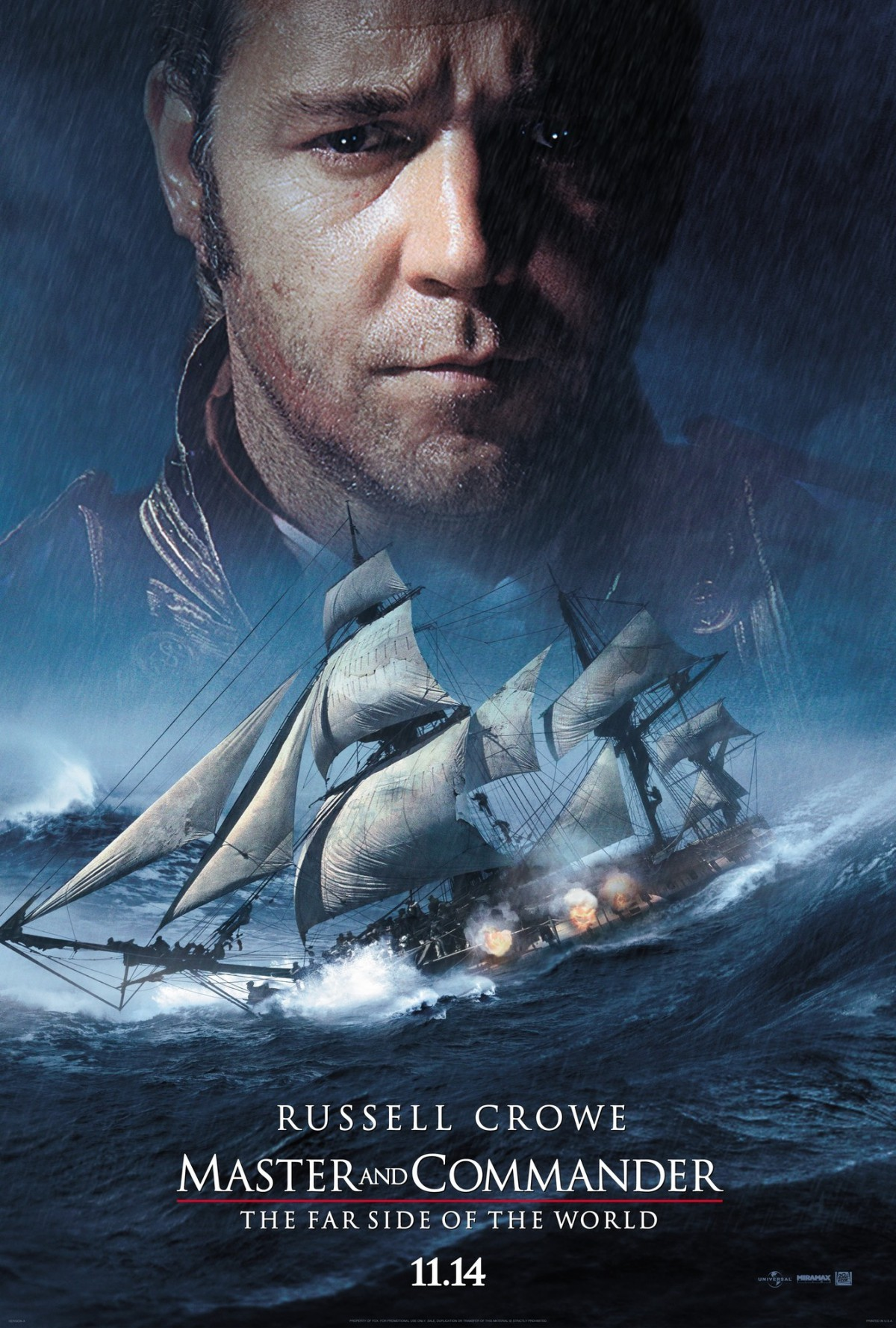 30. Master and Commander - The Far Side of the World (2003)
