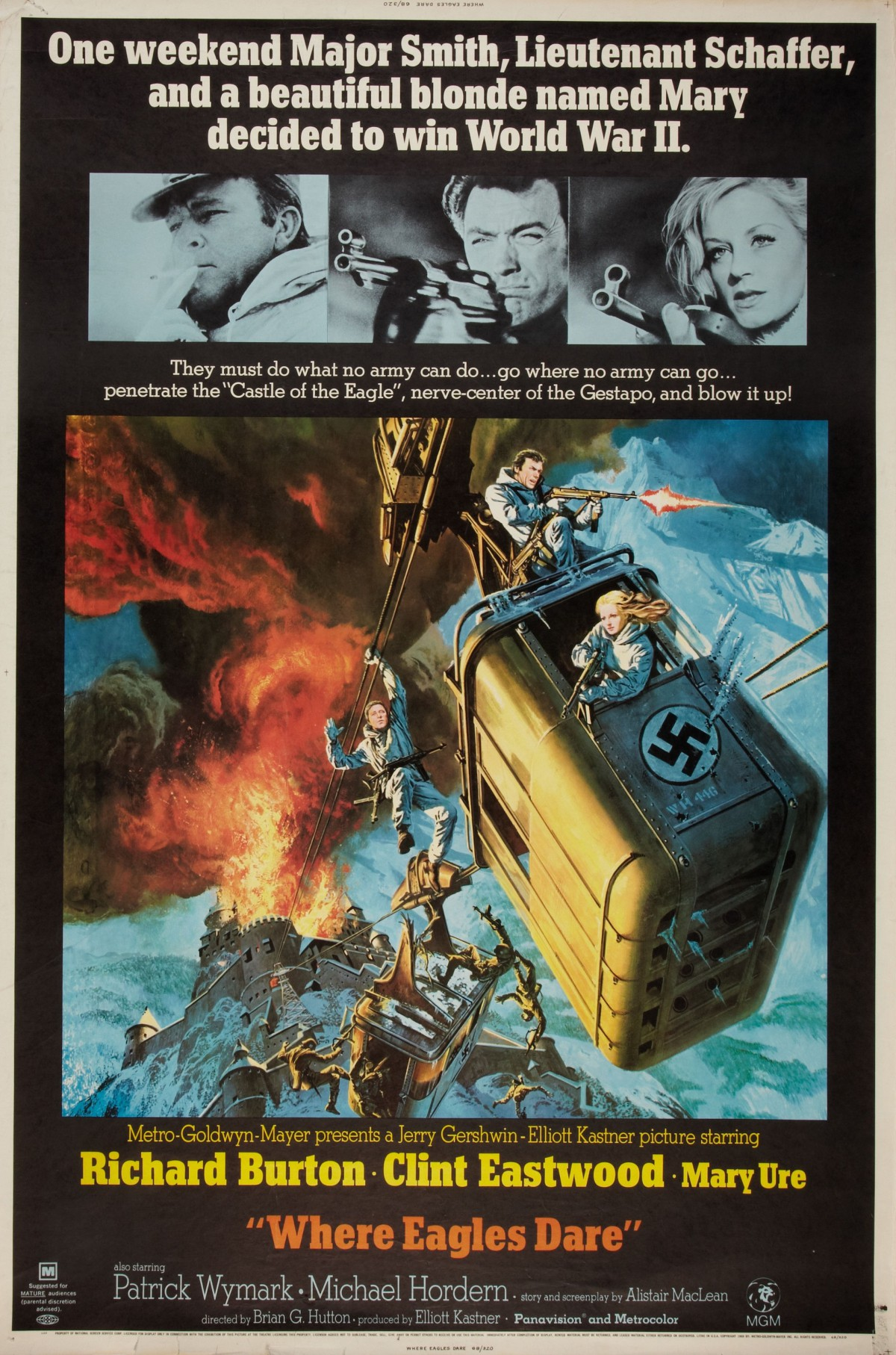 34. Where Eagles Dare (1968)