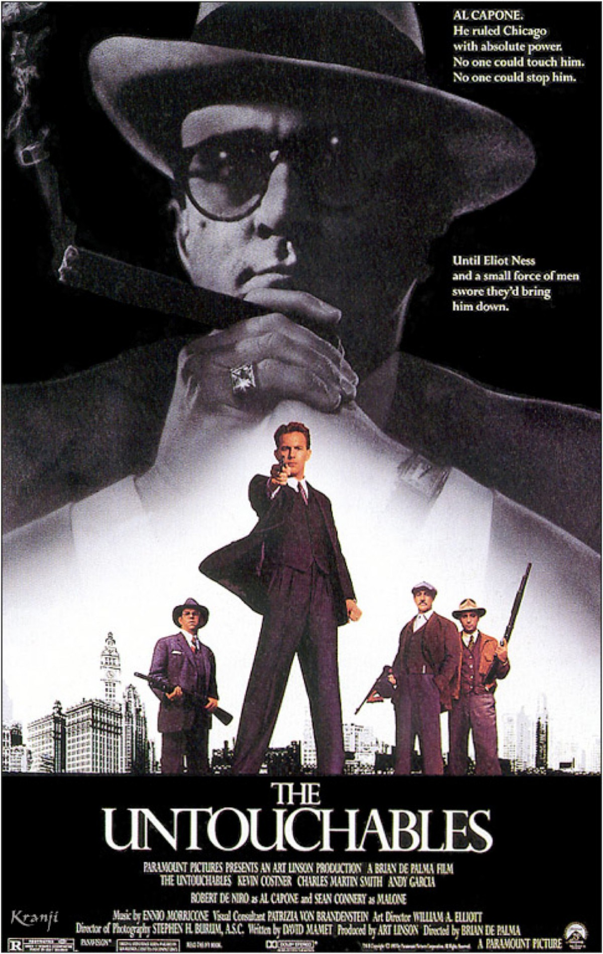 36. The Untouchables (1987)
