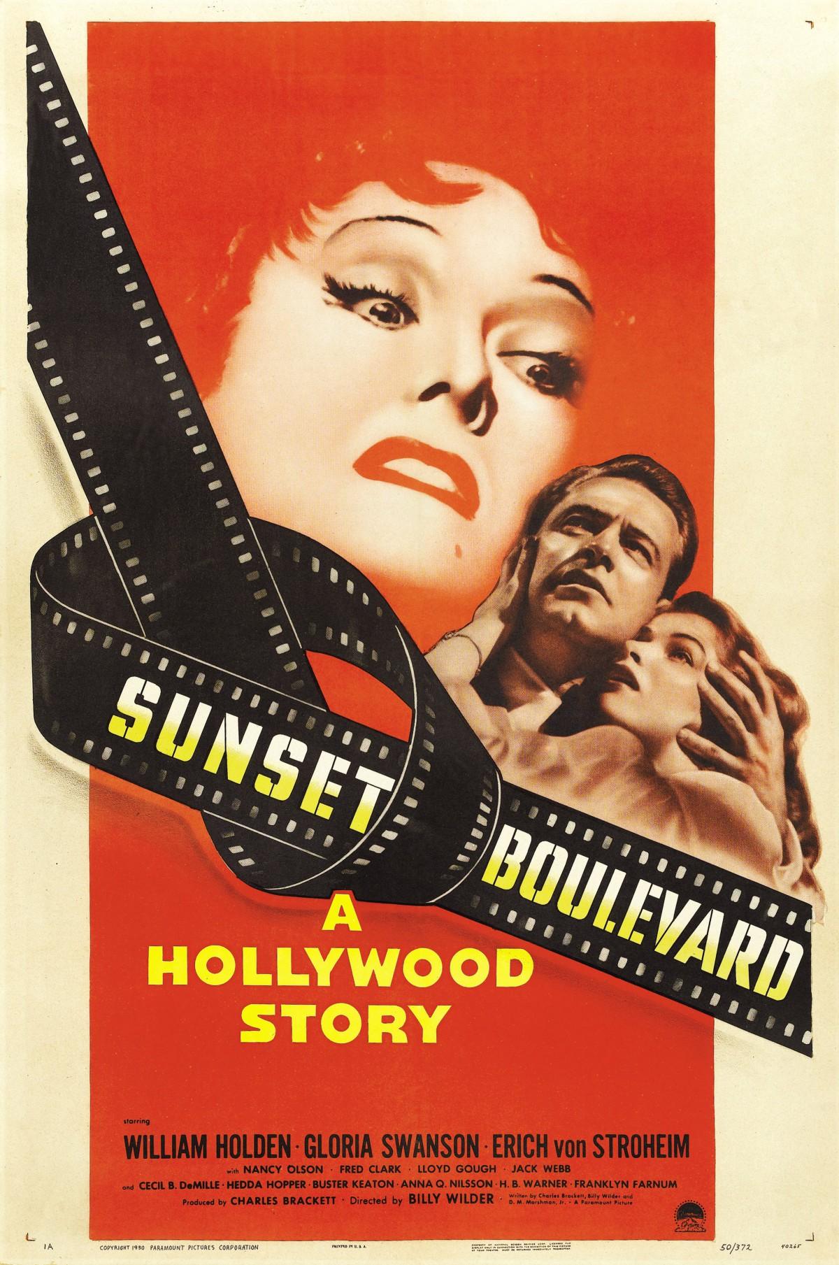 41. Sunset Boulevard (1950)