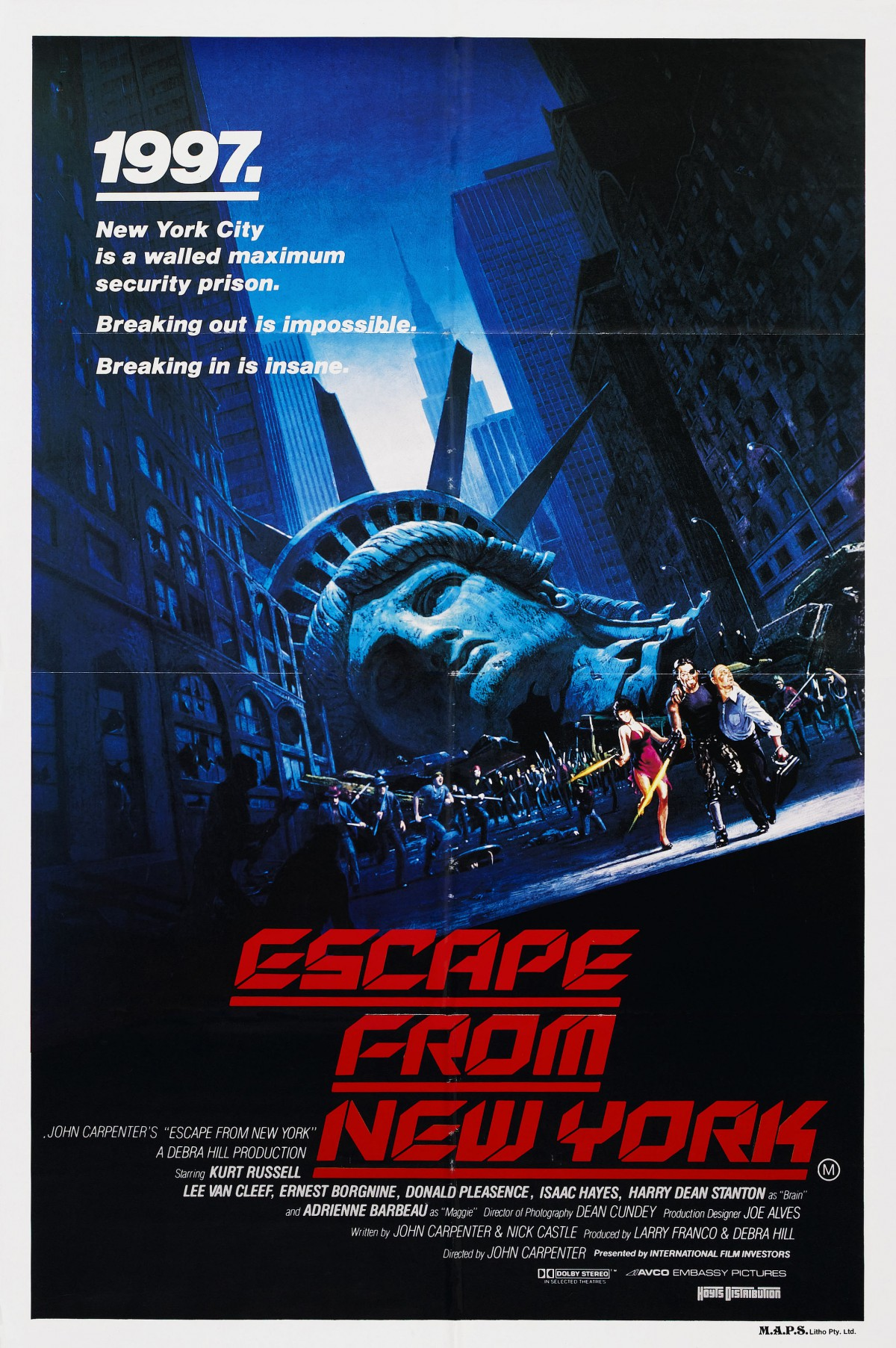 48. Escape from New York (1981)