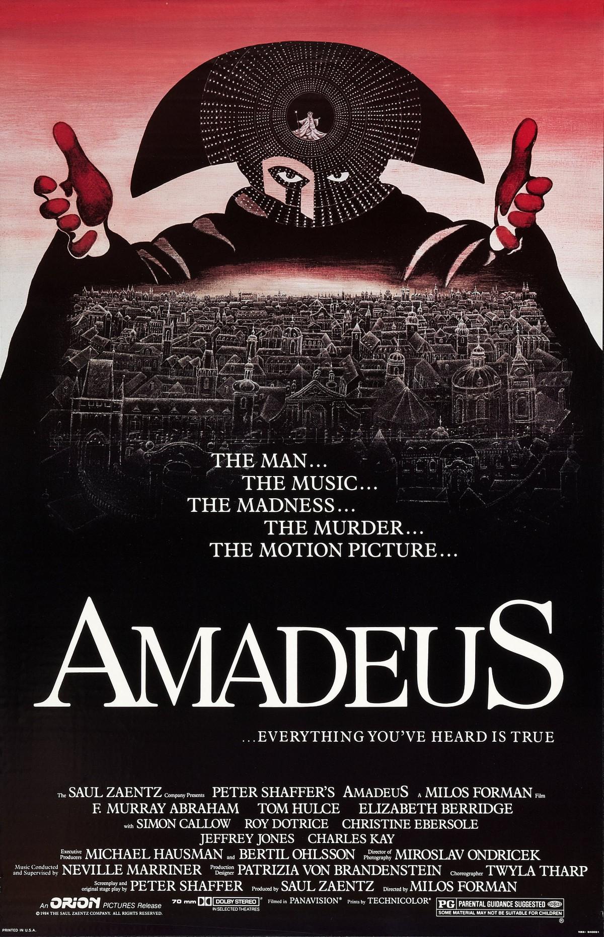 53. Amadeus (1984)