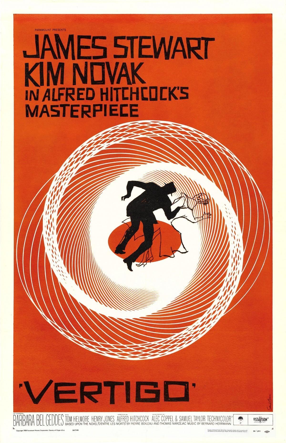 55. Vertigo (1958)