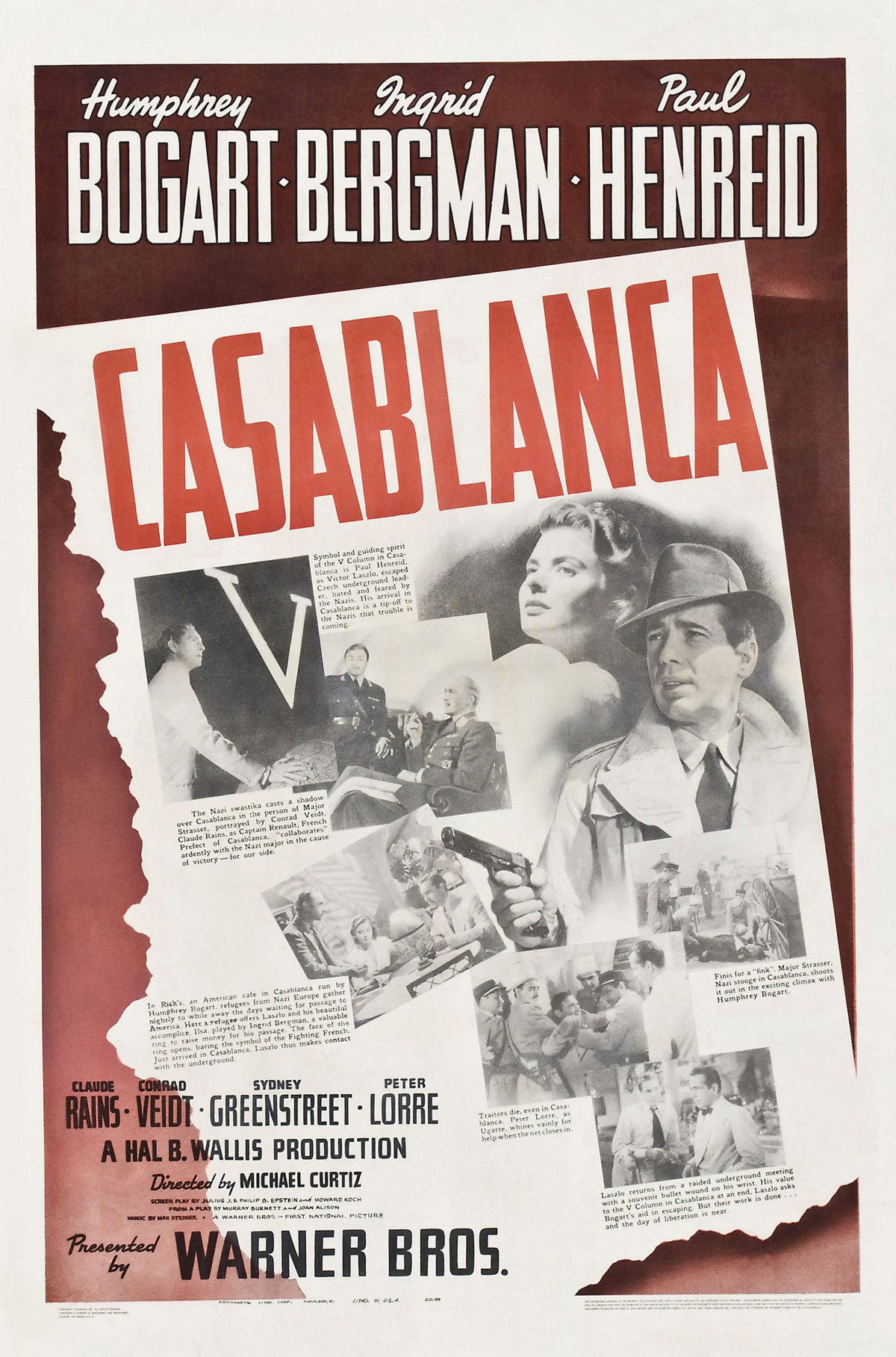 68. Casablanca (1942)