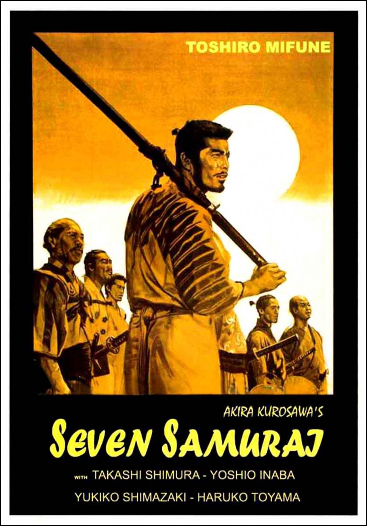 72. Seven Samurai (1954)