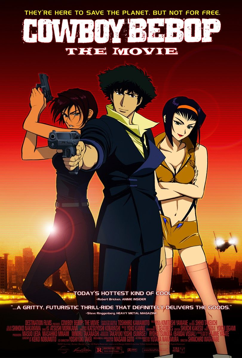 86. Cowboy Bebop - The Movie (2001)