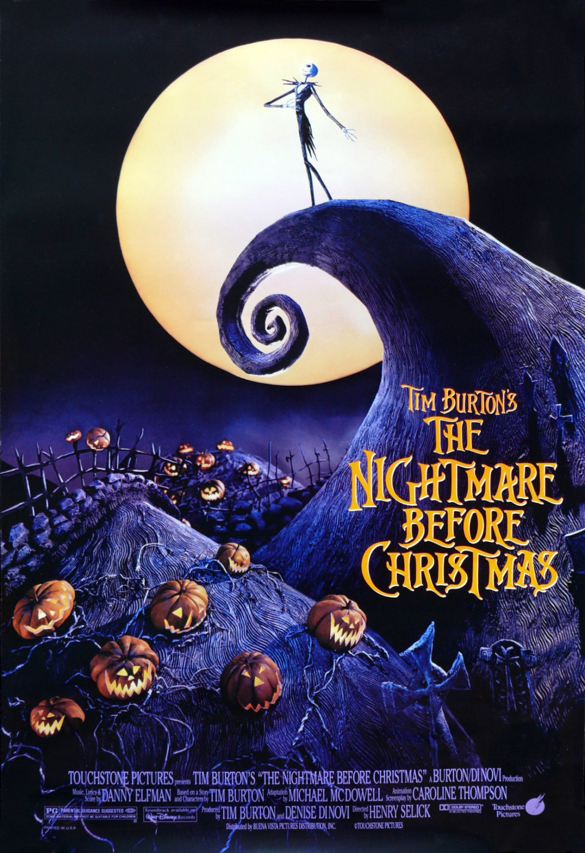 93. The Nightmare Before Christmas (1993)