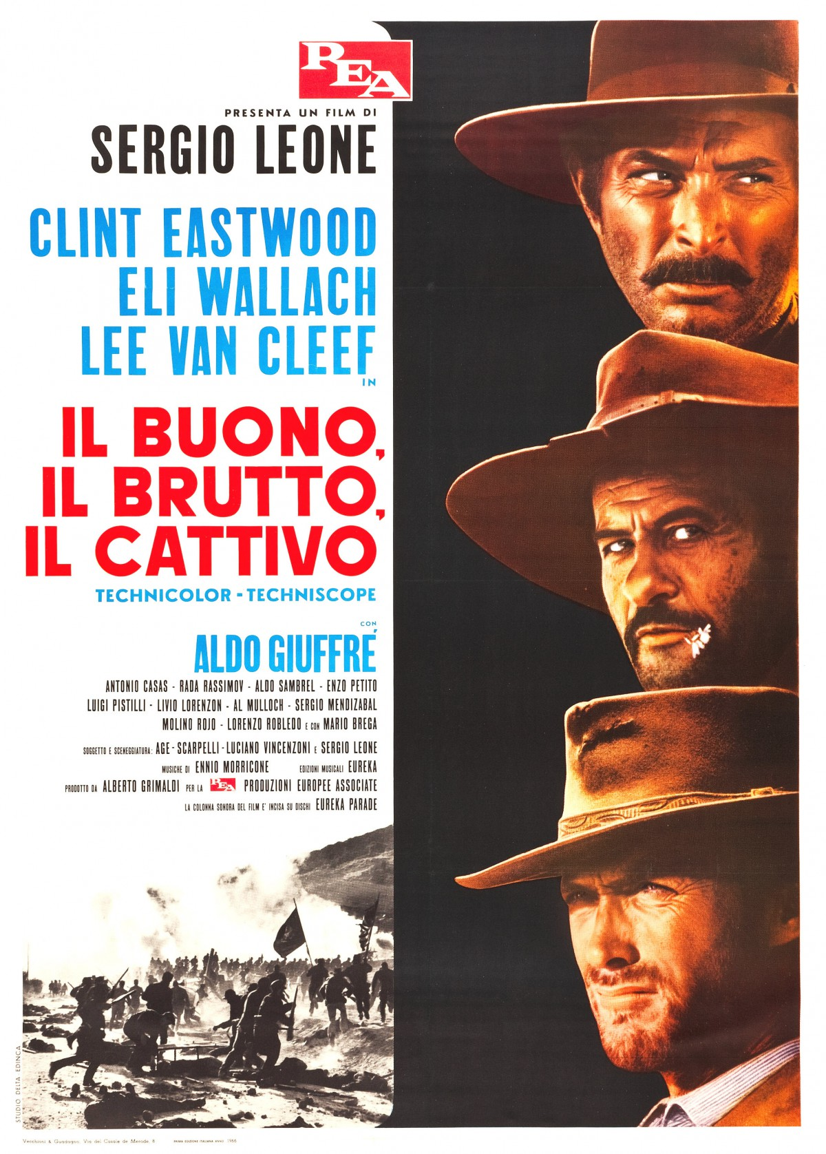 95. The Good, the Bad and the Ugly (1966)