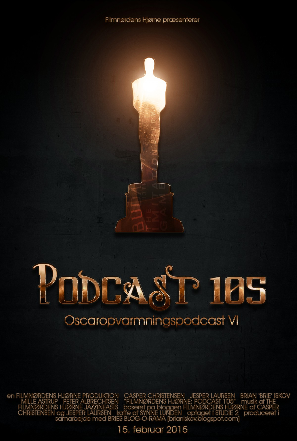 Poster for Podcast 105 III