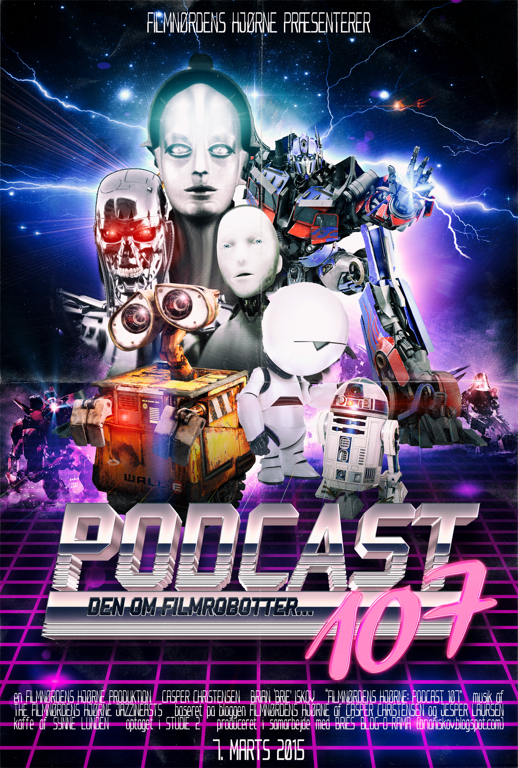 Poster for Podcast 107