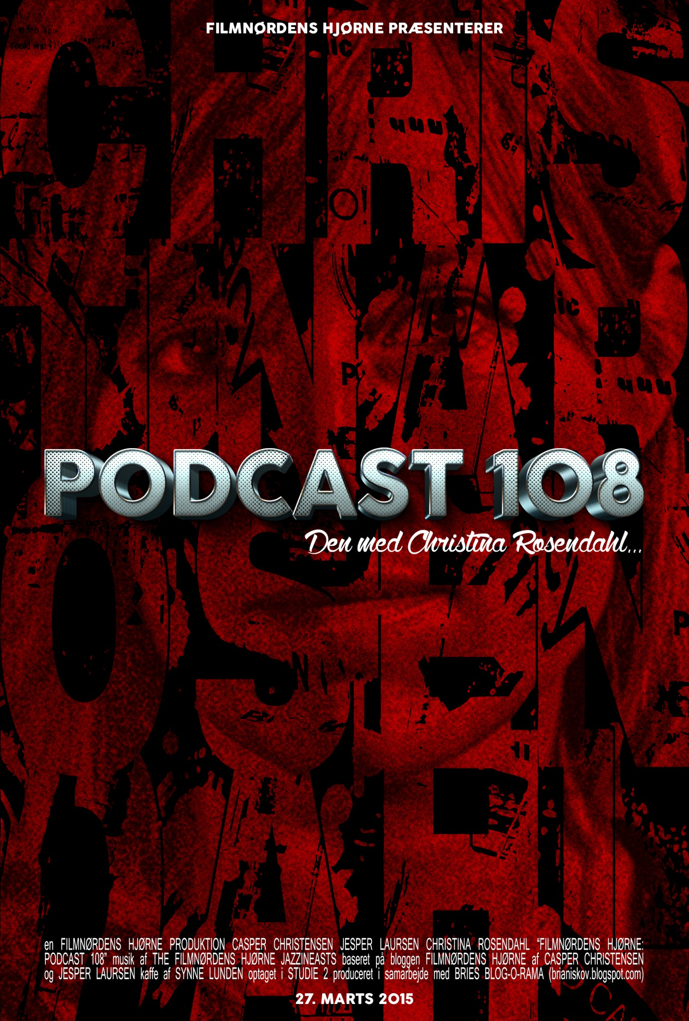 Poster for Podcast 108-Recovered