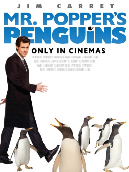 Mr. Popper's Penguins / Poppers pingviner (2011)