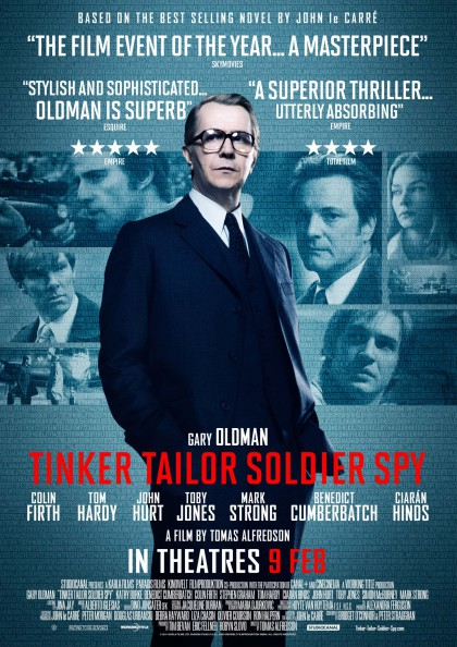 Tinker, Tailor, Soldier, Spy / Dame, konge, es, spion (2011)