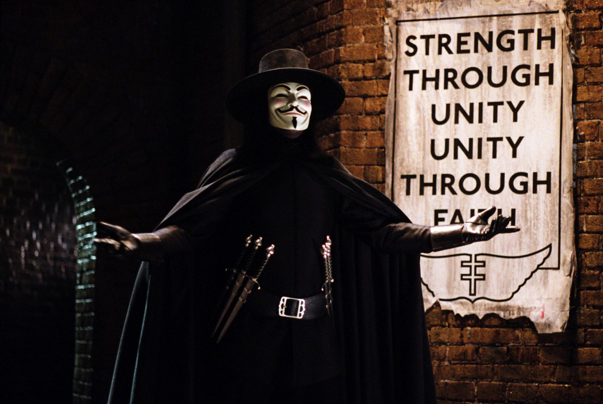9. V for Vendetta (2006)