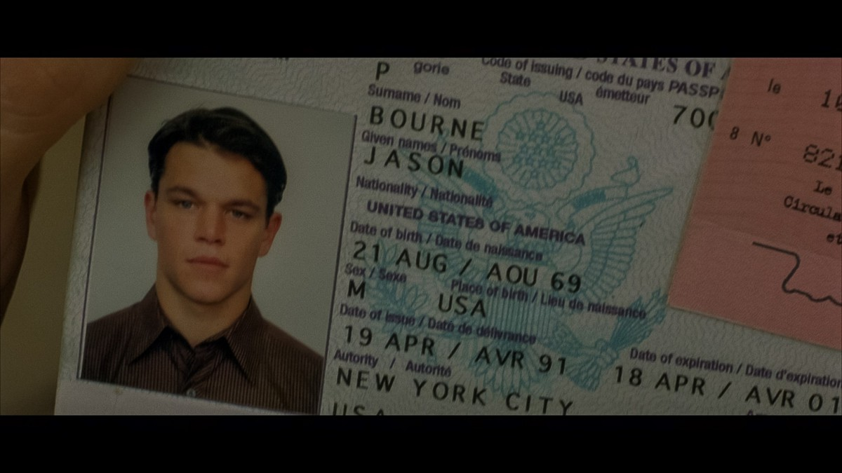 25. The Bourne Identity