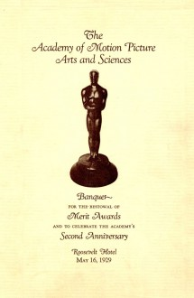 1st Academy Awards (program)