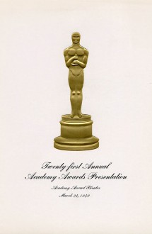 21st Academy Awards (program)