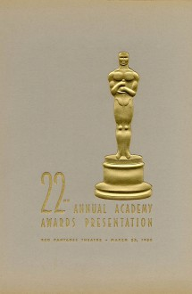 22nd Academy Awards (program)