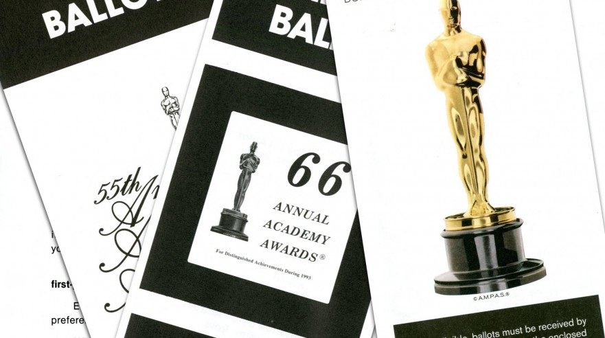 Oscar ballots