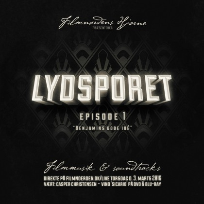 Cover for Lydsporet 1