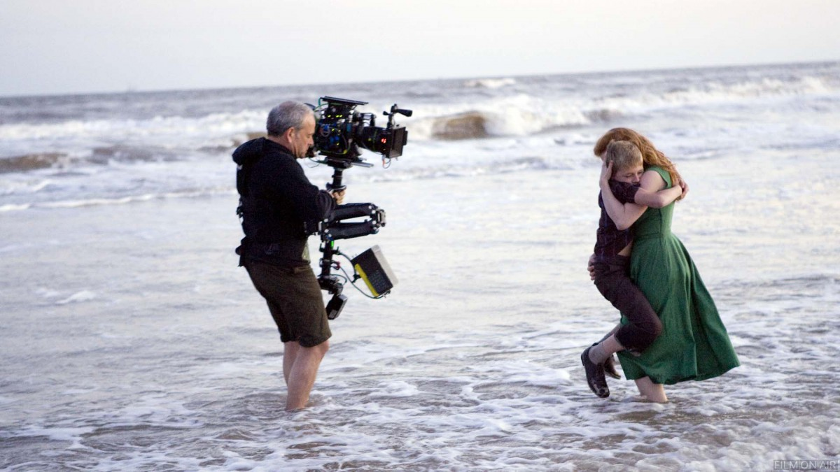 Terrence Malick filming