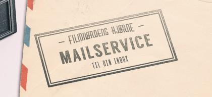 Mail-service mockup sidemenu