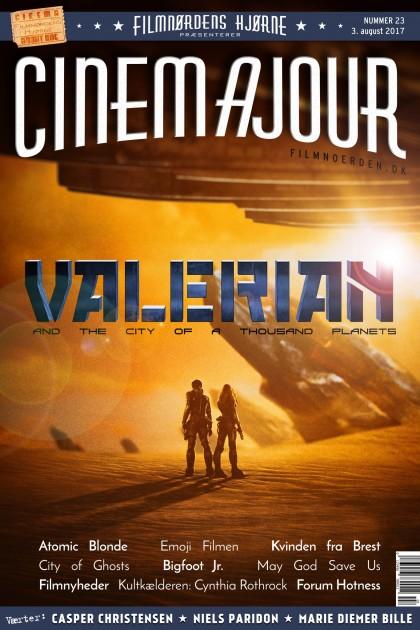 Cinemajour nr. 23 (Valerian, Atomic Blonde, Emoji Filmen, Kvinden fra Brest, m.m.)