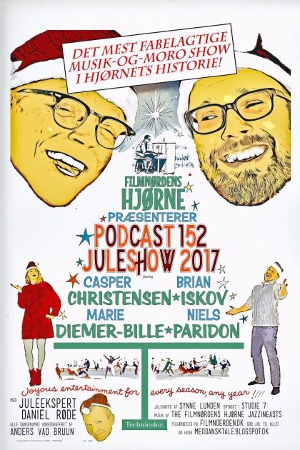 Podcast 152 (Hjørnets Juleshow 2017)