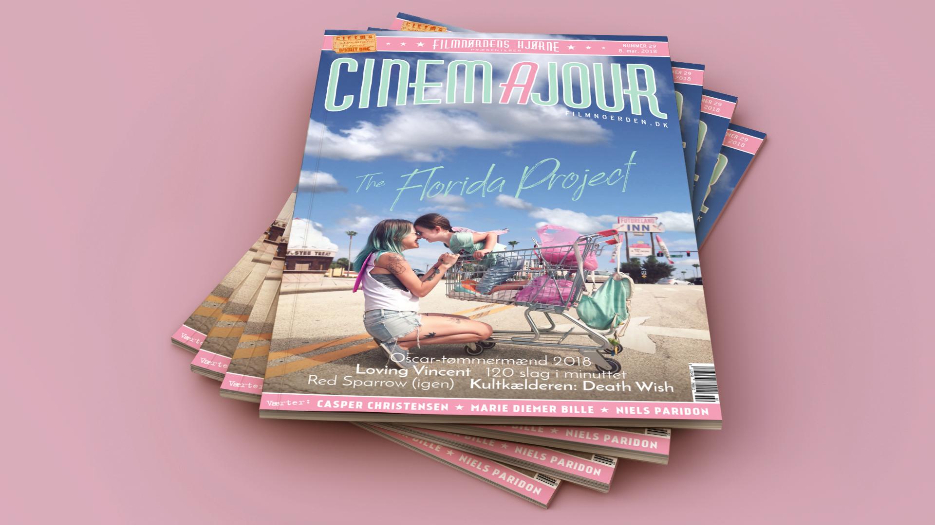 Cinemajour ep. 29 magazine mockup