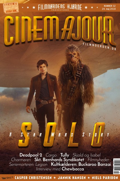 Cinemajour nr. 32 (Solo - A Star Wars Story, Deadpool 2, m.m.)