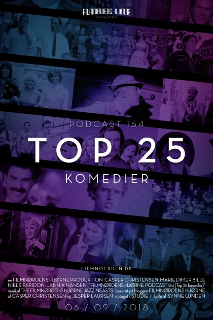 Podcast 164 (Top 25 komedier)