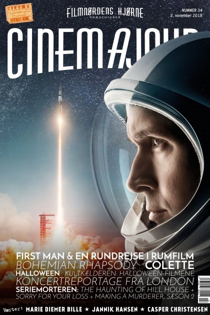 Cinemajour nr. 34 (First Man, Bohemian Rhapsody, Halloween, Colette, m.m.)