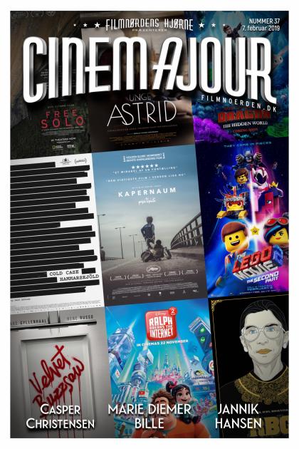 Cinemajour nr. 37 (Kapernaum, Cold Case Hammarskjöld, The LEGO Movie 2, m.m.)