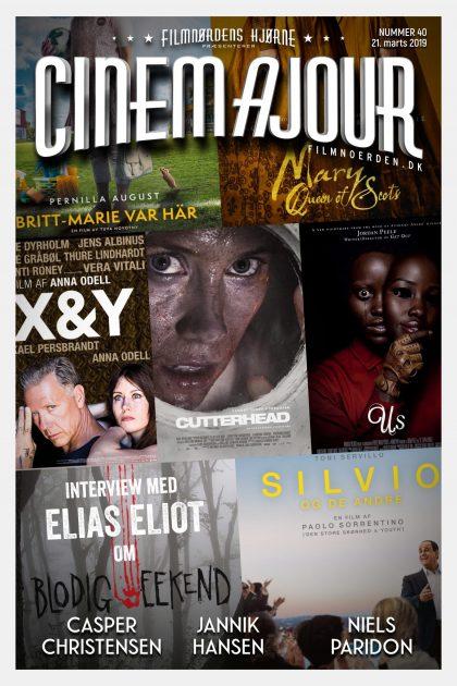 Cinemajour nr. 40 (Us, Cutterhead, Blodig Weekend, Silvio og de andre, m.m.)