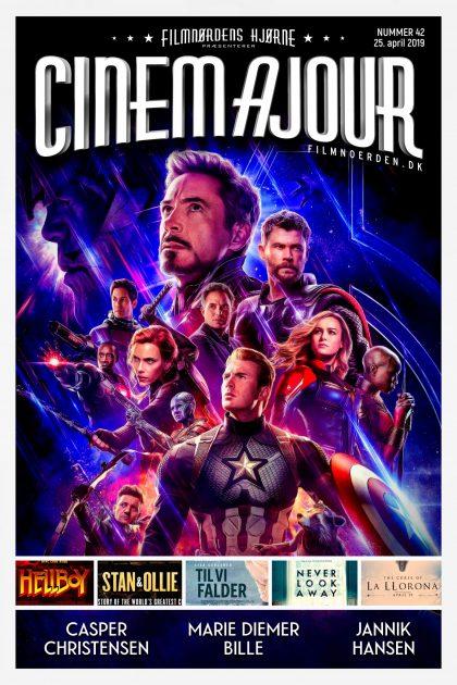 Cinemajour nr. 42 (Avengers: Endgame, Hellboy, Werk Ohne Autor, m.m.)