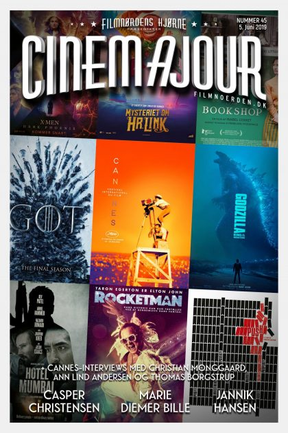 Cinemajour nr. 45 (Cannes '19, Game of Thrones, Godzilla 2: King of Monsters, m.m.)