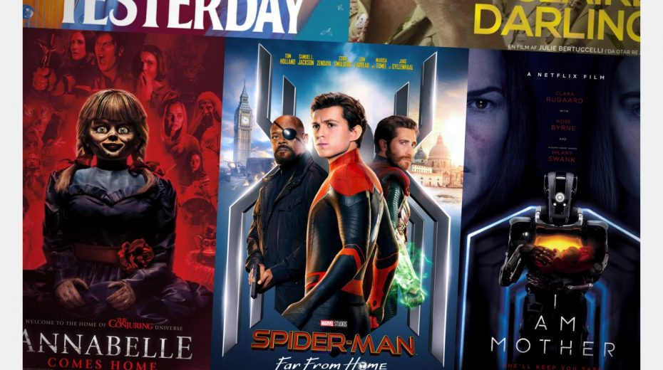 Cinemajour nr. 47 (Spider-Man: Far From Home, Yesterday, Annabelle Comes Home, I Am Mother, m.m.)