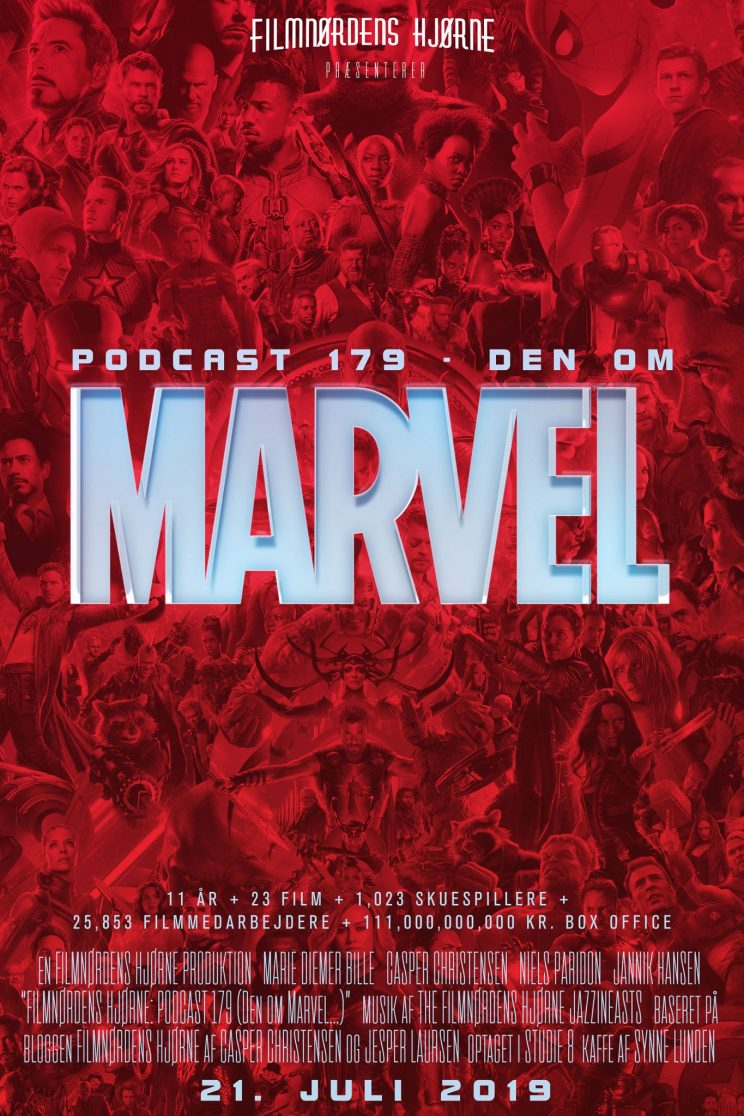 Podcast 179 (Den om Marvel...)