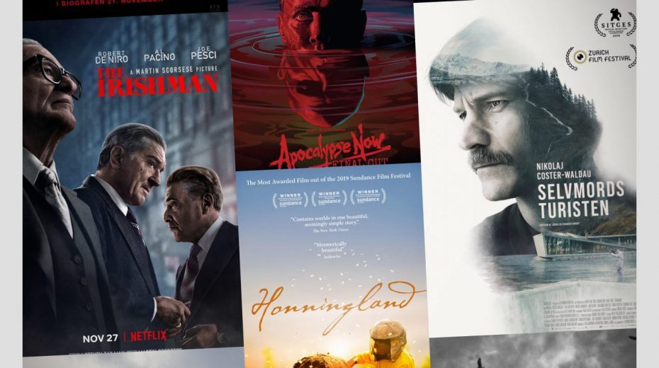 Cinemajour nr. 55 (The Irishman, The Lighthouse, Onkel, m.m.)