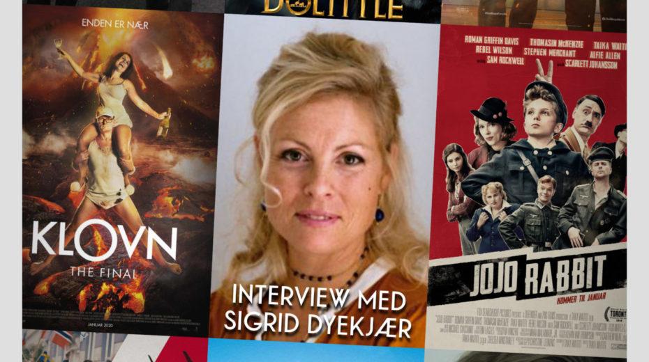 Cinemajour 58 (Jojo Rabbit, Klovn - The Final, Sigrid Dyekjær, m.m.)
