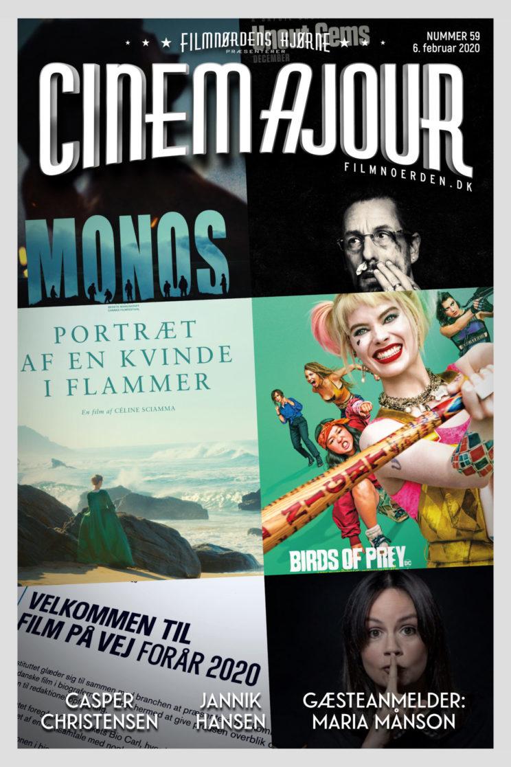 Cinemajour nr. 59 (Uncut Gems, Birds of Prey, Maria Månson, m.m.)