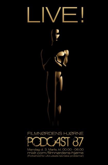 Podcast 87 (LIVE webcast fra Oscar-uddelingen 2014)