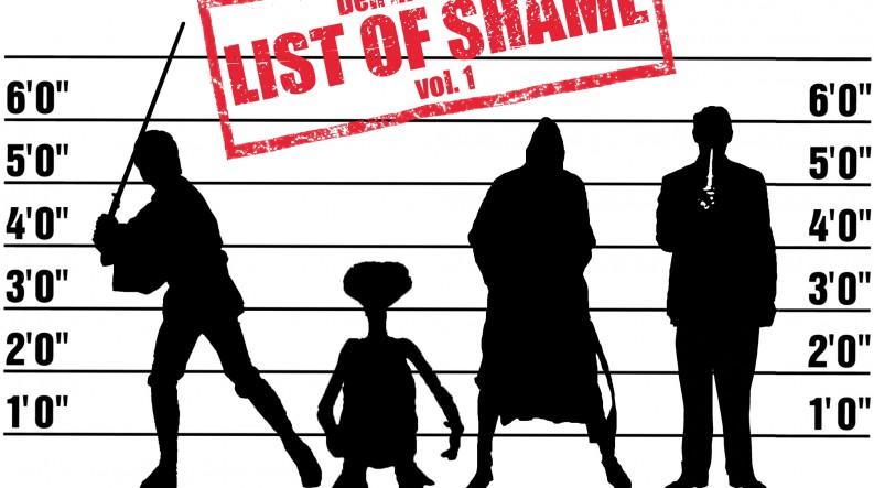 Podcast 97 (Den med vores list of shame - vol. 1)