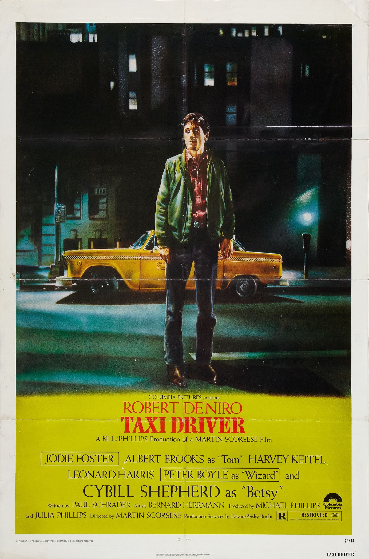 12. Taxi Driver (1976)